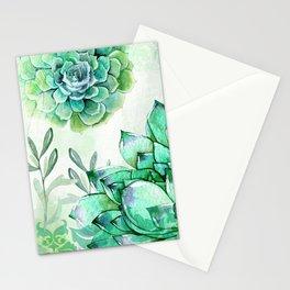 Irish Mint Garden Stationery Cards