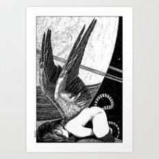 asc 638 - L'ange incarné (The earhtly angel) Art Print
