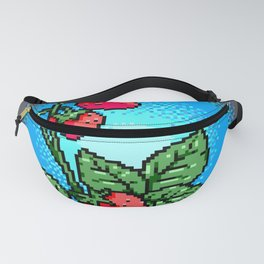 Lo Res Strawberries Fanny Pack