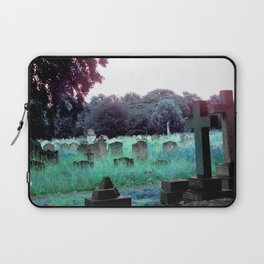 Meet You At The Cemetery Gates Laptop Sleeve