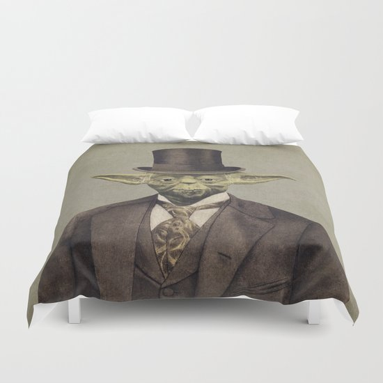 Sir Yodington  - square format Duvet Cover