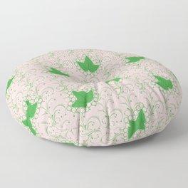 Ivies & Pearls Floor Pillow