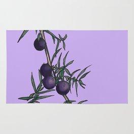 Juniper berries Rug