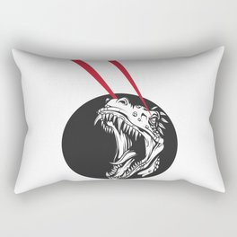 T-Rex Vision Rectangular Pillow