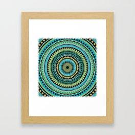 VINYASA Framed Art Print