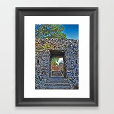 Rocky Passage Framed Art Print