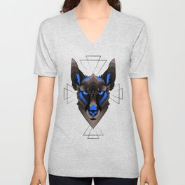 Graphic Belgian Malinois Unisex V-Neck