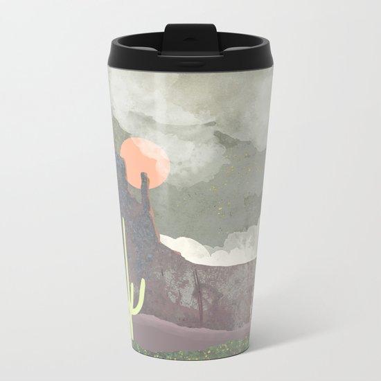 Desertscape Metal Travel Mug