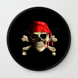The Jolly Roger Wall Clock