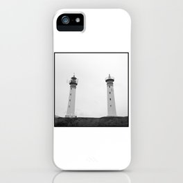 Lighthouses iPhone Case