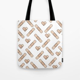 Bandage Pattern Tote Bag
