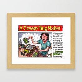 thing maker Framed Art Print