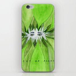 Leaf Me Alone iPhone Skin