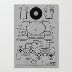 PSX Canvas Print