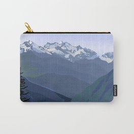 North Cascades National Park, Vintage Carry-All Pouch