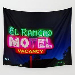 El Rancho Motel ... Wall Tapestry