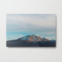 Mount Sopris Sunset 3/19/17 Metal Print