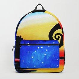 Jack Skellington Starry night Backpack