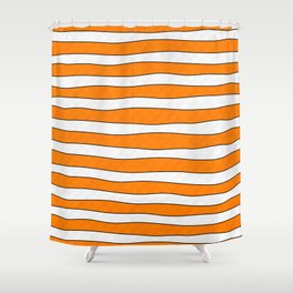 Clownfish Finding Nemo Inspired Shower Curtain