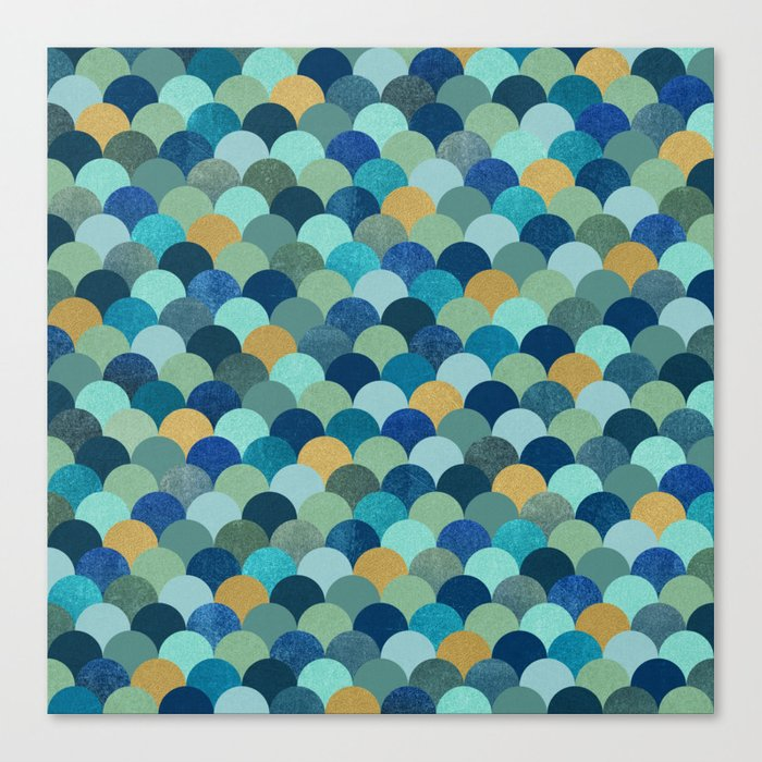Ocean Pebbles Canvas Print