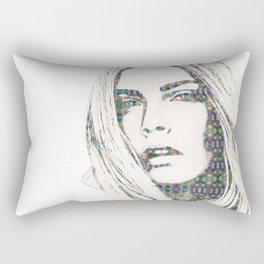 Cara Delevigne Rectangular Pillow
