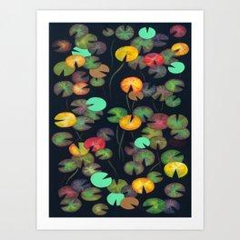 Nénuphars 2 Art Print