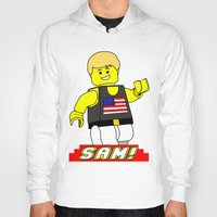 sam smith Hoodies featuring Sam by Millennium Gorilla