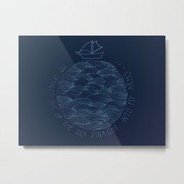 Seascape/Marling Metal Print