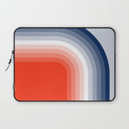 70s Stripes Rainbow Laptop Sleeve