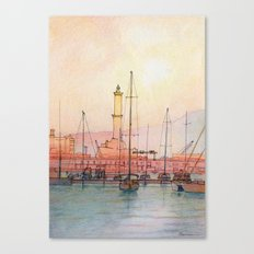 La Lanterna di Genova Canvas Print