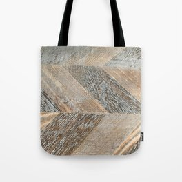 Wood Grain Texture Tote Bag