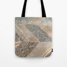 Wood Grain Texture Tote Bag