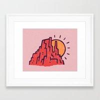 utah Framed Art Prints featuring Utah by WEAREYAWN