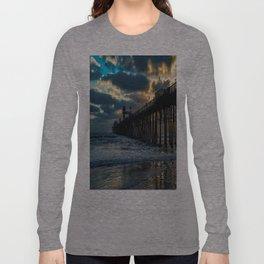 South Side Oceanside Pier ~10-2015 Long Sleeve T-shirt