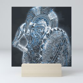 Spartan Hoplite Mini Art Print