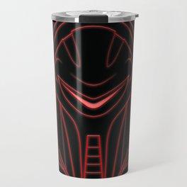 Cylon glow red Travel Mug