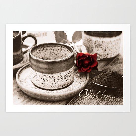 With Love... Art Print