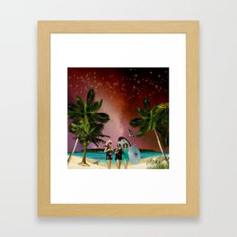 Serenade on the Beach Framed Art Print