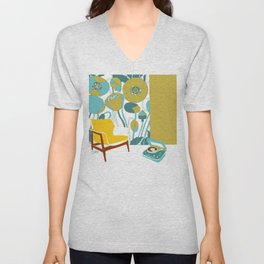 The yellow chair Unisex V-Neck