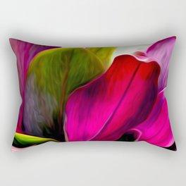 Ti Leaf Bouquet Rectangular Pillow