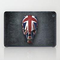 british flag iPad Cases featuring British horror by GrandeDuc