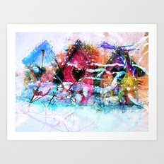A Home For All Seasons Art Print