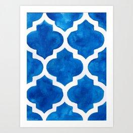 Moroccan Magic Art Print