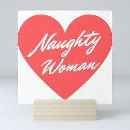 Naughty Woman Mini Art Print