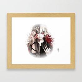 kaneki duality Framed Art Print