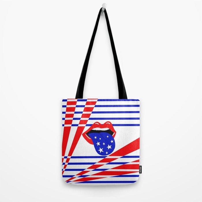 Star Spangled Love Tote Bag