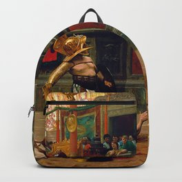 Jean-Leon Gerome - Pollice Verso - Digital Remastered Edition Backpack