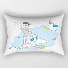 Fly Up High Rectangular Pillow