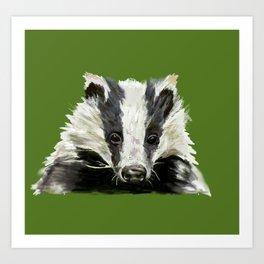 Animals endangered by HS2 (#stophs2) Art Print