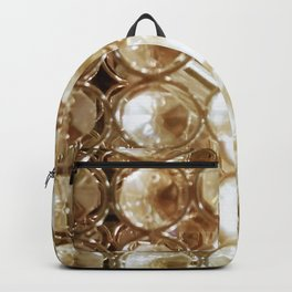 Brilliant Crystals and Gold Tones Backpack